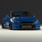 Pandem Bodykit for Nissan GT-R