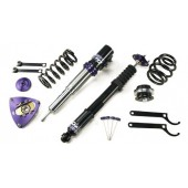 D2 Racing Rally Asphalt Coilovers for Porsche 996 Turbo