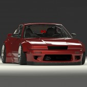 Rocket Bunny V2 Bodykit for Nissan PS13