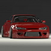 Rocket Bunny Bodykit for Nissan Silvia S15