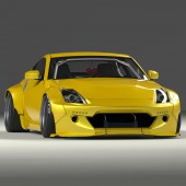 Rocket Bunny Bodykit for Nissan 350Z