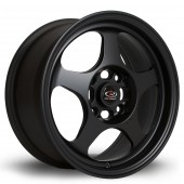 "Rota Slipstream 15x6.5"" 4x95.25 ET12, Flat Black"