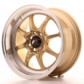 """Japan Racing TF-2 15x7.5"""" 4x100/114.3 ET10, Gold"""