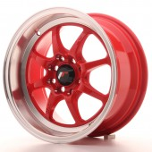 "Japan Racing TF-2 15x7.5"" 4x100/114.3 ET30, Red"