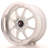 "Japan Racing TF-2 15x7.5"" 4x100/114.3 ET30, White"
