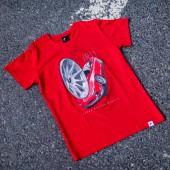 Japan Racing JR-11 Men's T-Shirt - Red