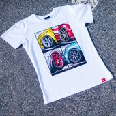 Japan Racing Mix Men's T-Shirt - White