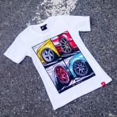 Japan Racing Mix Women's T-Shirt - White