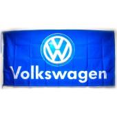 Drapeau Volkswagen Bleu (150 x 75 cm)