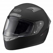Flat Black Sparco X-1 Helmet