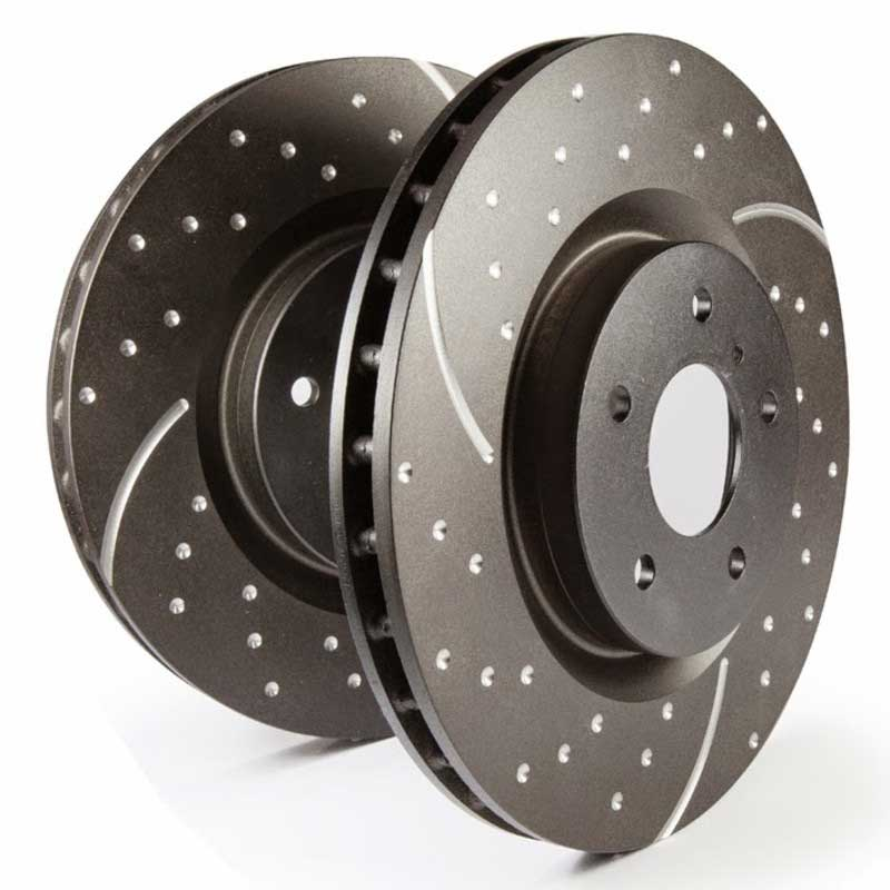 EBC Drilled and Grooved Brake Discs